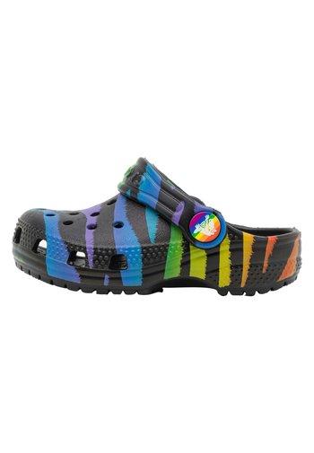 CLASSIC 2021 RAINBOW - Sandály do bazénu - black/multicolor