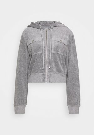ZIP THROUGH - Mikina na zip - grey