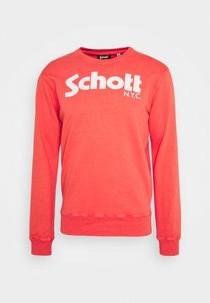 Sweatshirt - spicy red