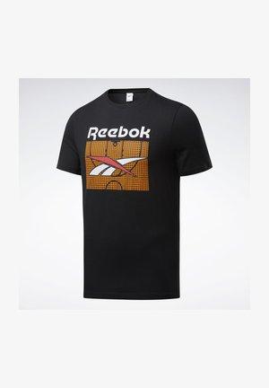 CLASSICS B-BALL COURT T-SHIRT - Print T-shirt - black