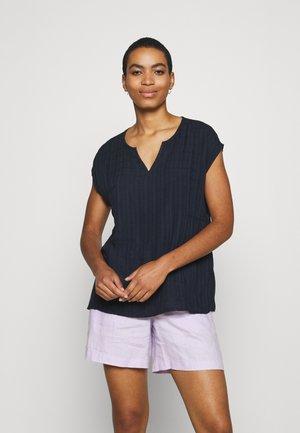 BLOUSE - Camiseta básica - navy