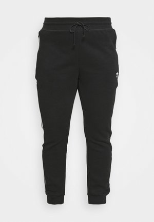 SLIM PANT - Pantalones deportivos - black/white