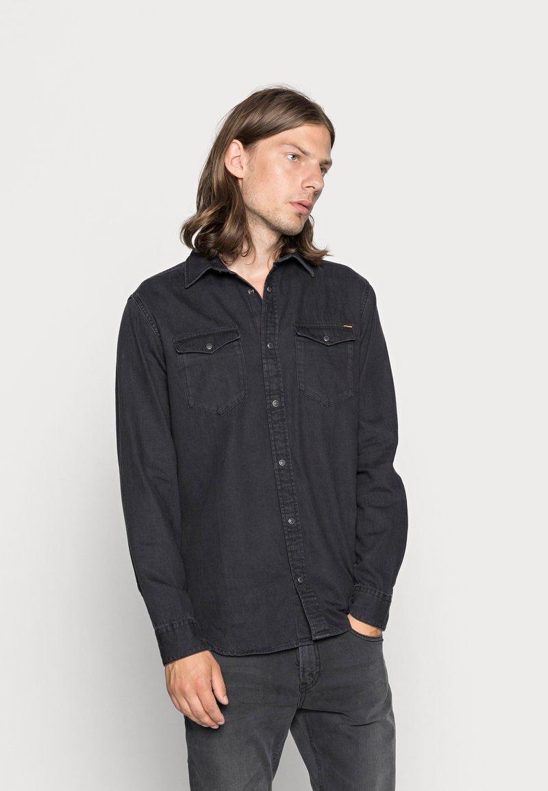 Jack & Jones - JJESHERIDAN  - Camisa - black denim