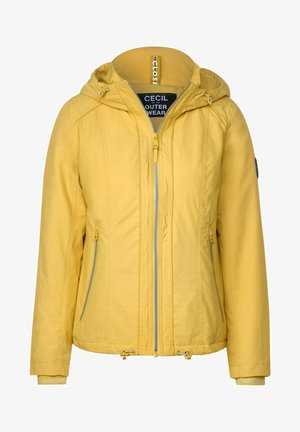 MELANGE-OPTIK - Outdoor jacket - gelb