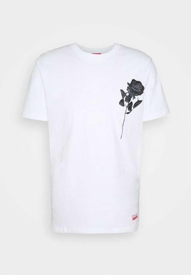 DRINCE - T-shirt print - white