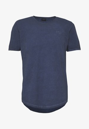 CLARK - Basic T-shirt - navy
