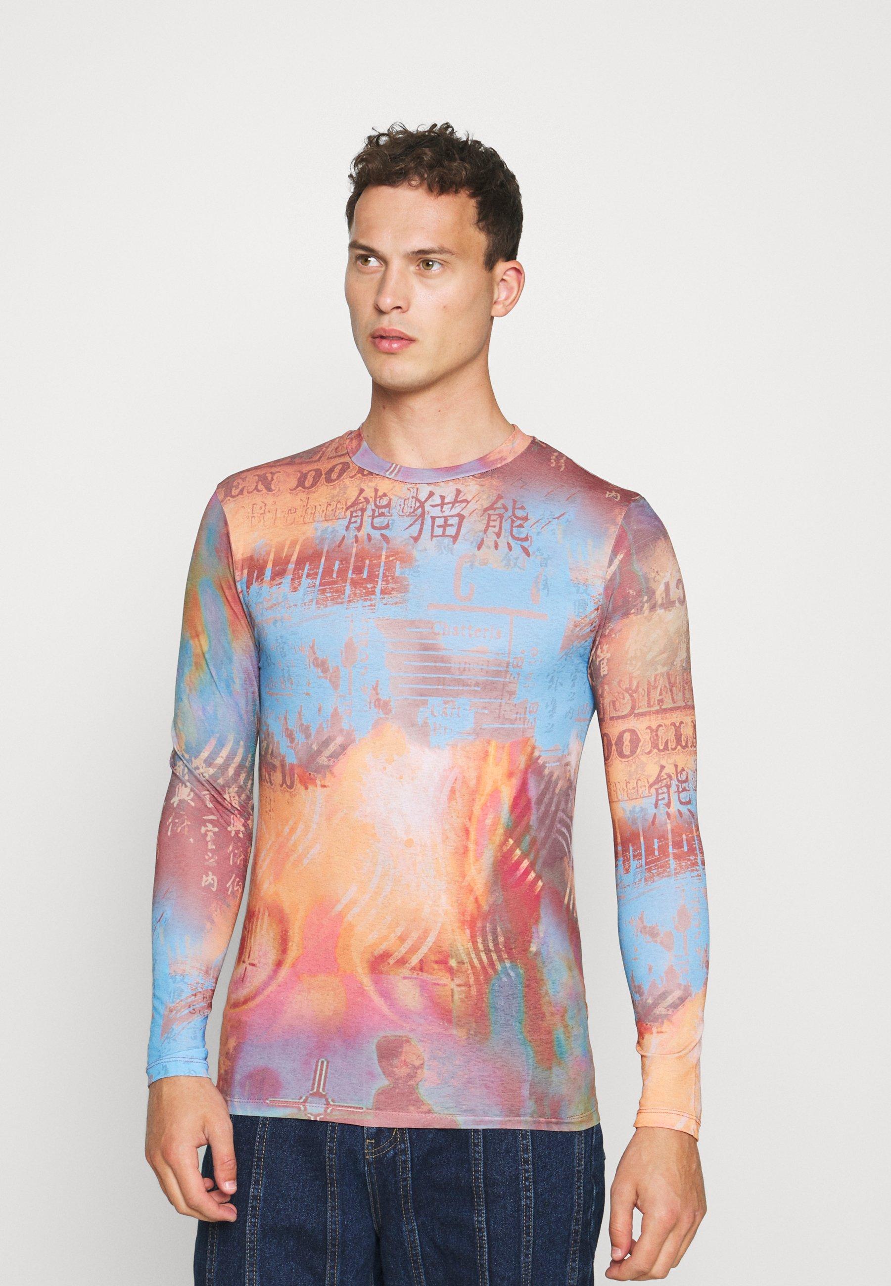Men VINTAGE HEATMAP  - Long sleeved top