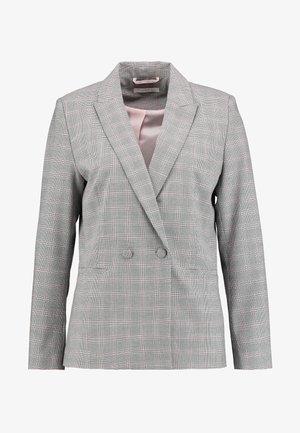 DOUBLE - Blazer - light grey