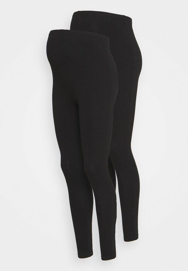 2 PACK - Leggingsit - black