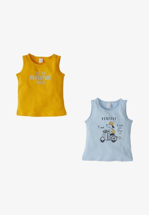 2 PACK - Top - yellow