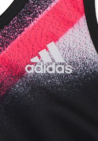 adidas Performance - YG UC - Sport BH - black/white/signal pink - 2
