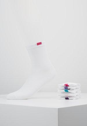 ECODIM CREW SOCKS 5 PACK - Socks - white
