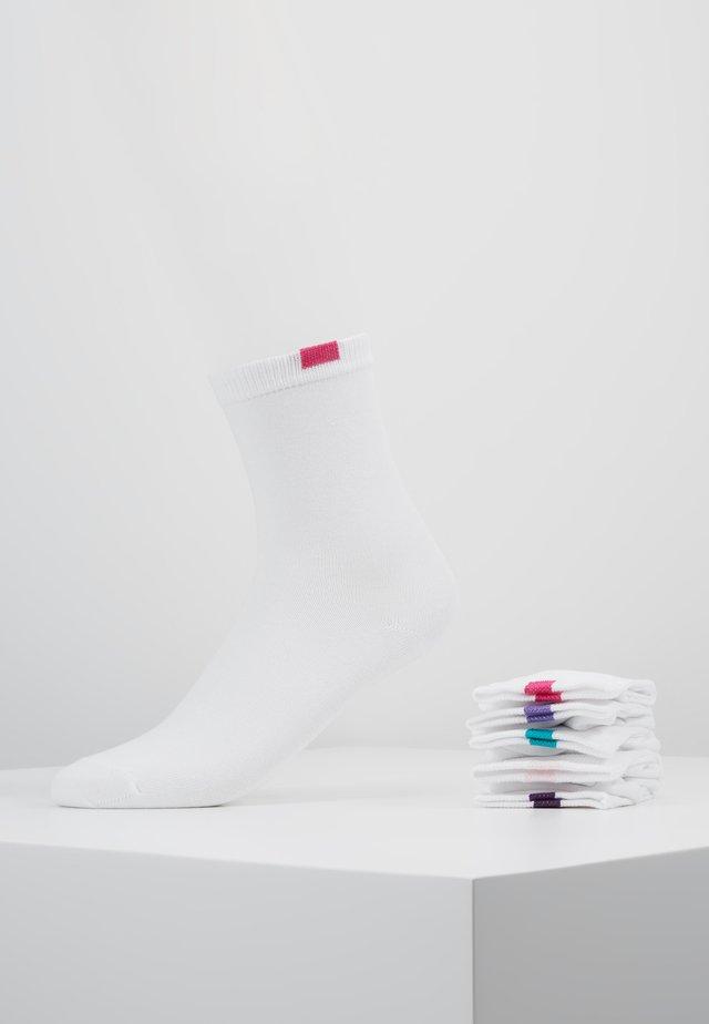 ECODIM CREW SOCKS 5 PACK - Calze - white