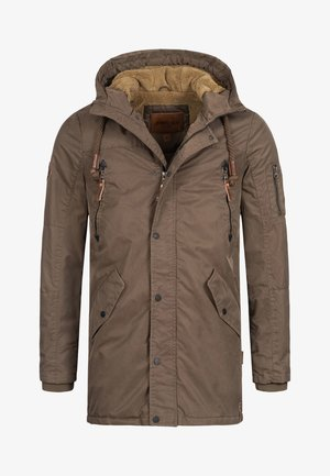 BARDSLEY - Winter coat - mottled brown