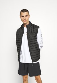 Only & Sons - ONSPAUL QUILTED - Väst - black - 0