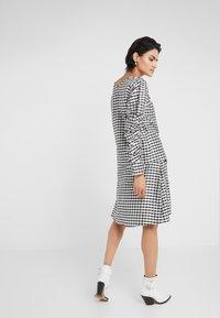DESIGNERS REMIX - ALEXIS SKIRT - A-line skirt - black/white - 2