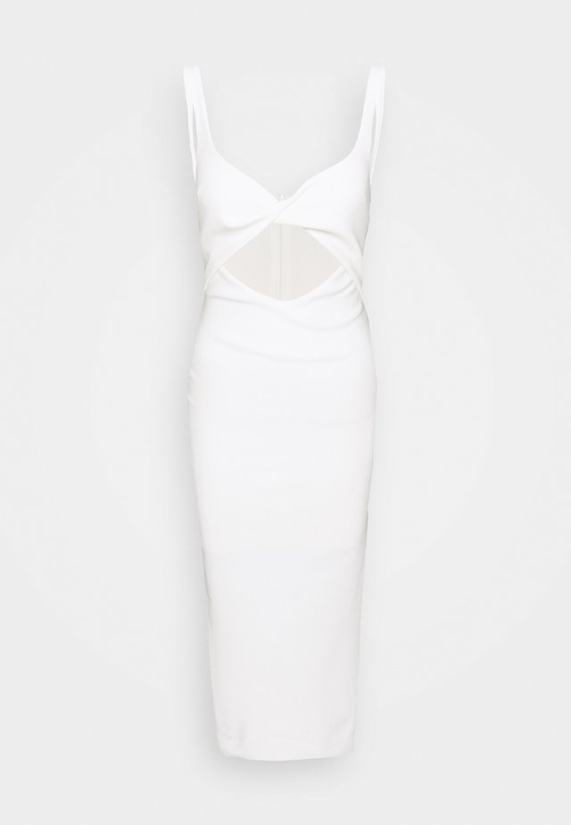 JOELLE MIDI DRESS - Cocktailkjoler / festkjoler - ivory