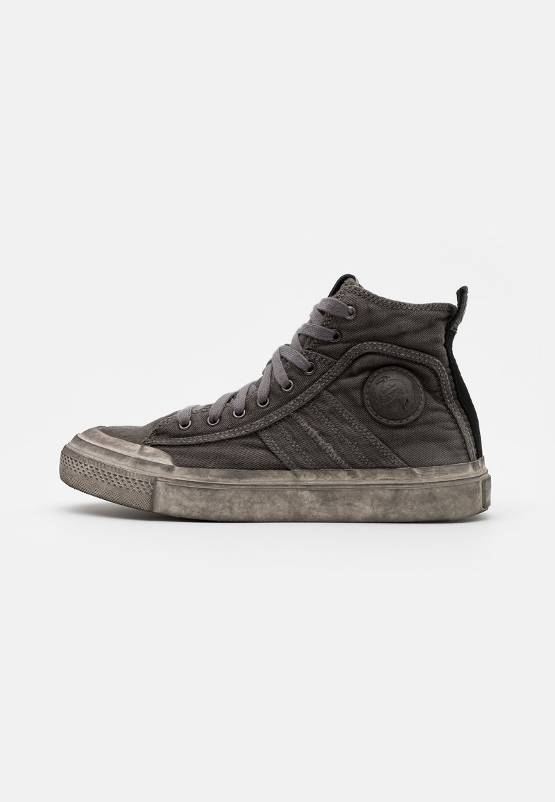 Diesel - ASTICO S-ASTICO MID LACE - High-top trainers - gunmetal