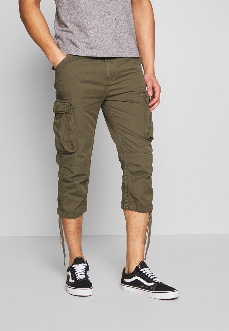 Schott - TRRANGER - Shorts - khaki