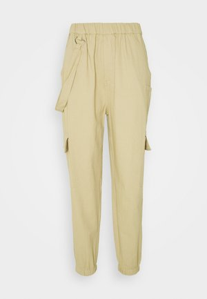RING STRAP PANT - Trousers - beige