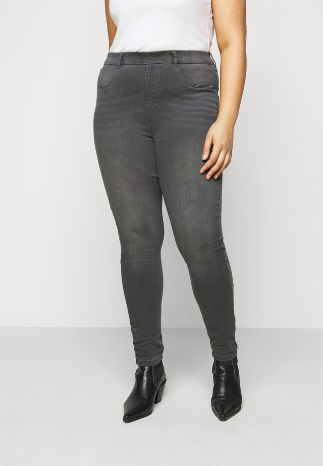 EDEN - Jeggings - charcoal