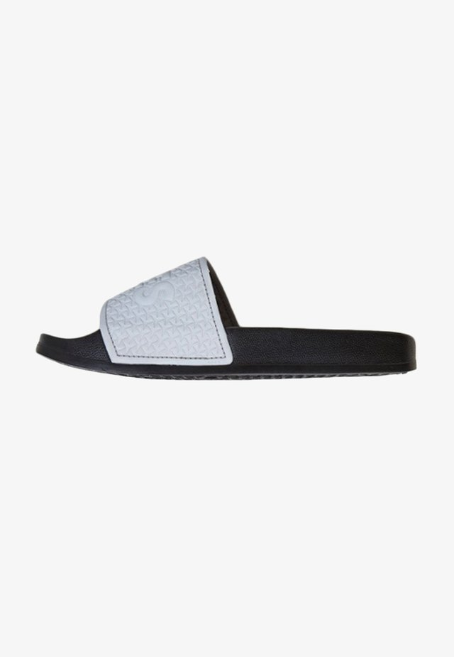 Pool slides - gray