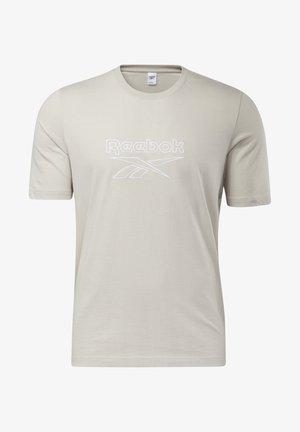 VECTOR TEE - T-shirts print - sand stone