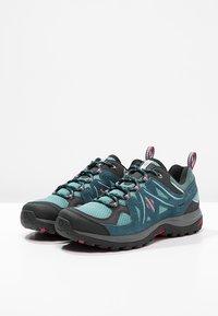 Salomon - ELLIPSE 2 AERO  - Hiking shoes - artic/reflecting pond/sangria - 2