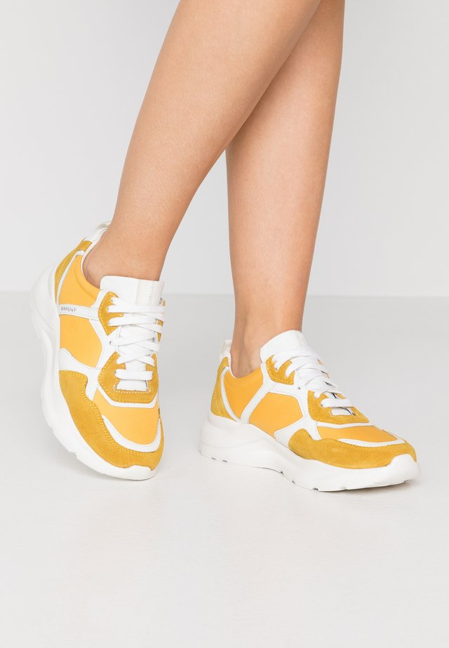 Sneakers laag - lemon
