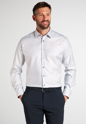FITTED WAIST - Formal shirt - gray