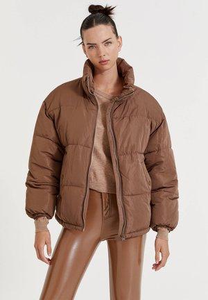 Gewatteerde jas - brown
