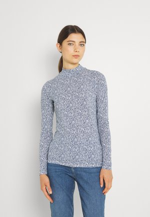 PRINTED LONGSLEEVE WITH HIGH NECK  - Long sleeved top - combo