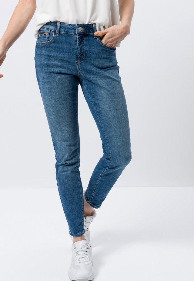 PADUA - Slim fit jeans - aegean blue authentic washed