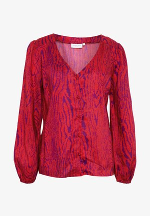 BLOUSE - Pusero - deep fuchsia/purple