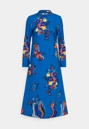 PRINT DRESS - Day dress - azzurro