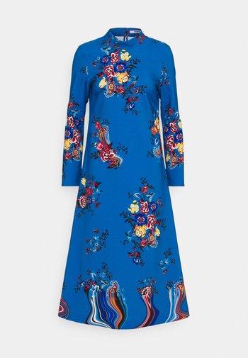 PRINT DRESS - Denní šaty - azzurro