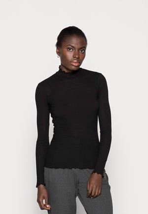 NELLI - Maglietta a manica lunga - black