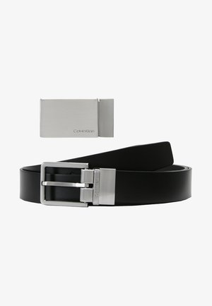 FORMAL GIFTSET - Belt business - black