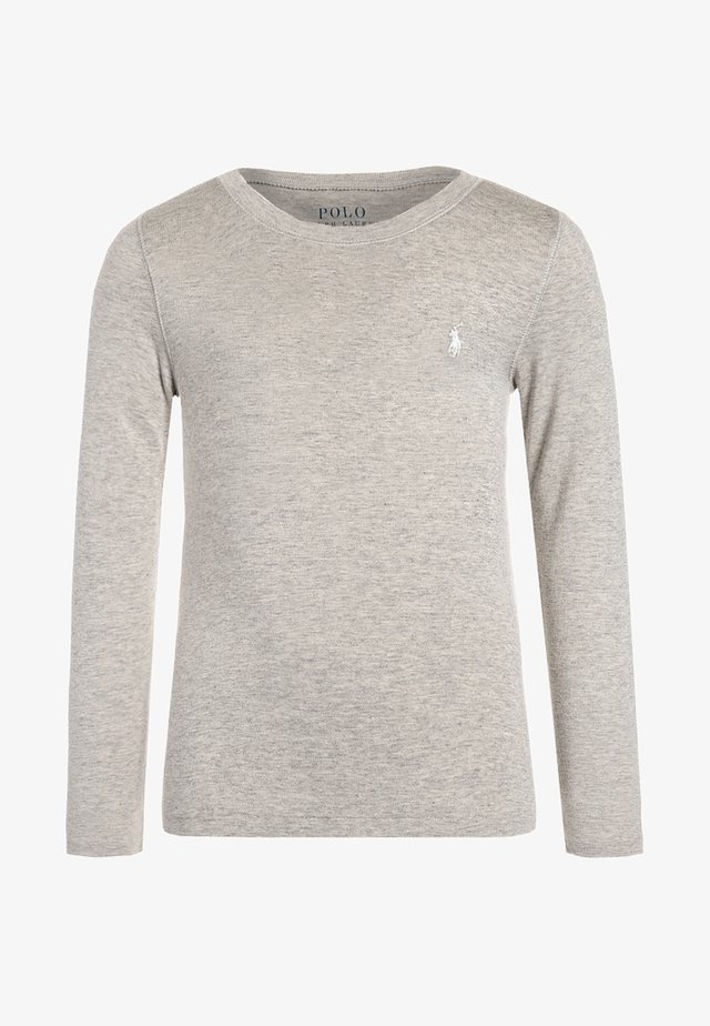 Langarmshirt - light sport heather