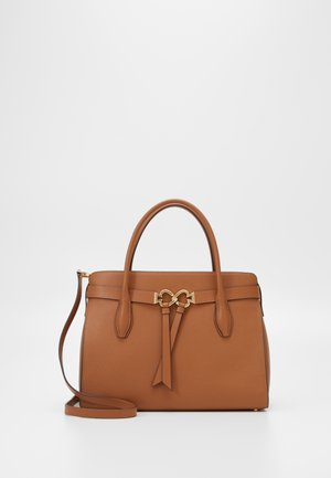 QUINN LARGE SATCHEL - Handbag - warm gingerbread