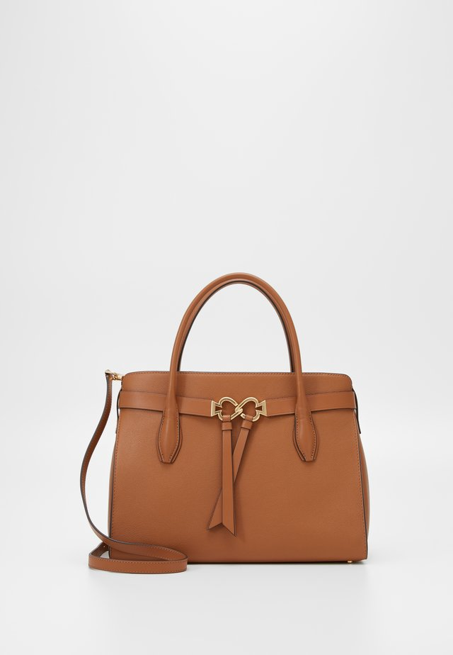 QUINN LARGE SATCHEL - Håndveske - warm gingerbread