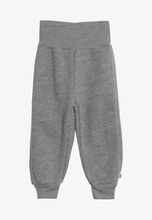 WOOLLY PANTS BABY - Trousers - pale grey marl