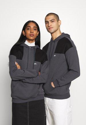 UNISEX - Felpa con cappuccio - dark grey