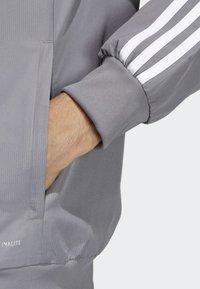 adidas Performance - TIRO 19 PRE-MATCH TRACKSUIT - Träningsjacka - grey/ white - 4