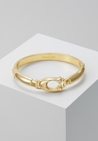 Coach - SCULPTED PLAQUE BANGLE - Náramek - gold-coloured - 0