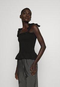 Bruuns Bazaar - CARLA ANNA - Top - black - 0