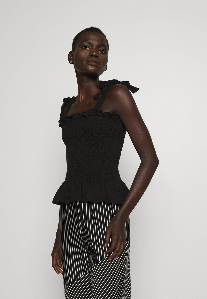 Bruuns Bazaar - CARLA ANNA - Top - black