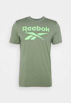 BIG LOGO TEE - T-shirt con stampa - light green