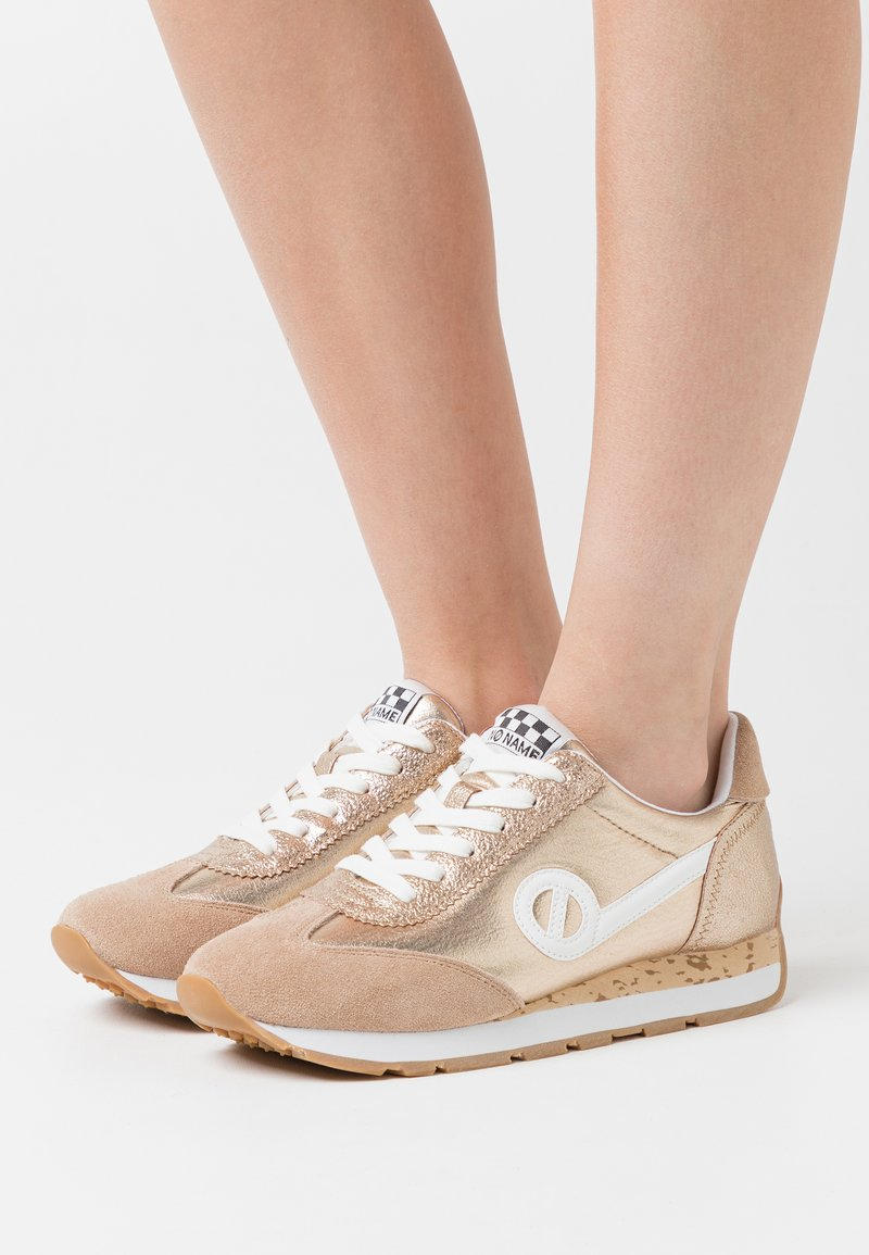 No Name - CITY RUN JOGGER - Trainers - sand/gold