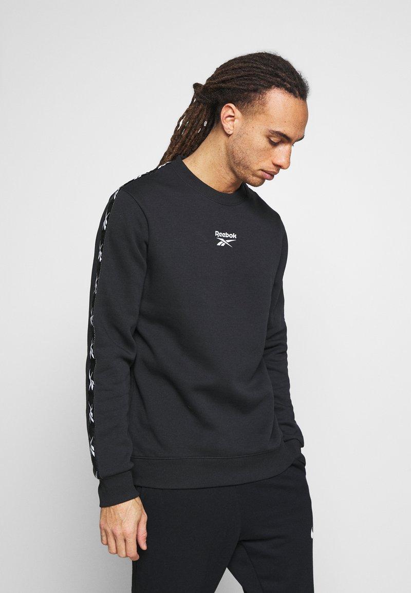 Reebok - TAPE CREW - Sweatshirt - black